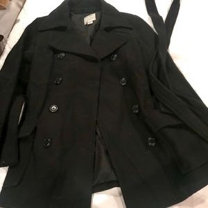 GUC, Old Navy pea coat, black, size Small